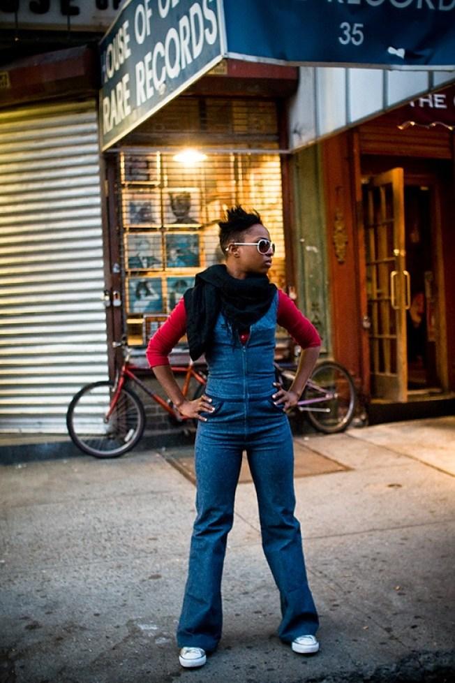 Street Scenes: Ayesha on Carmine Street