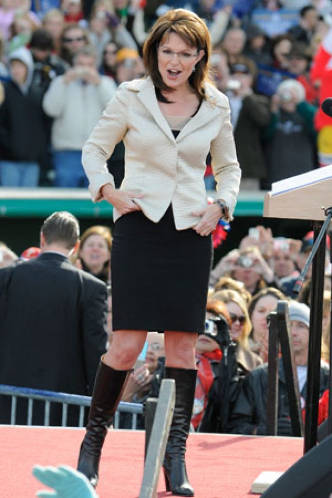 Does Sarah Palin Dress Herself?