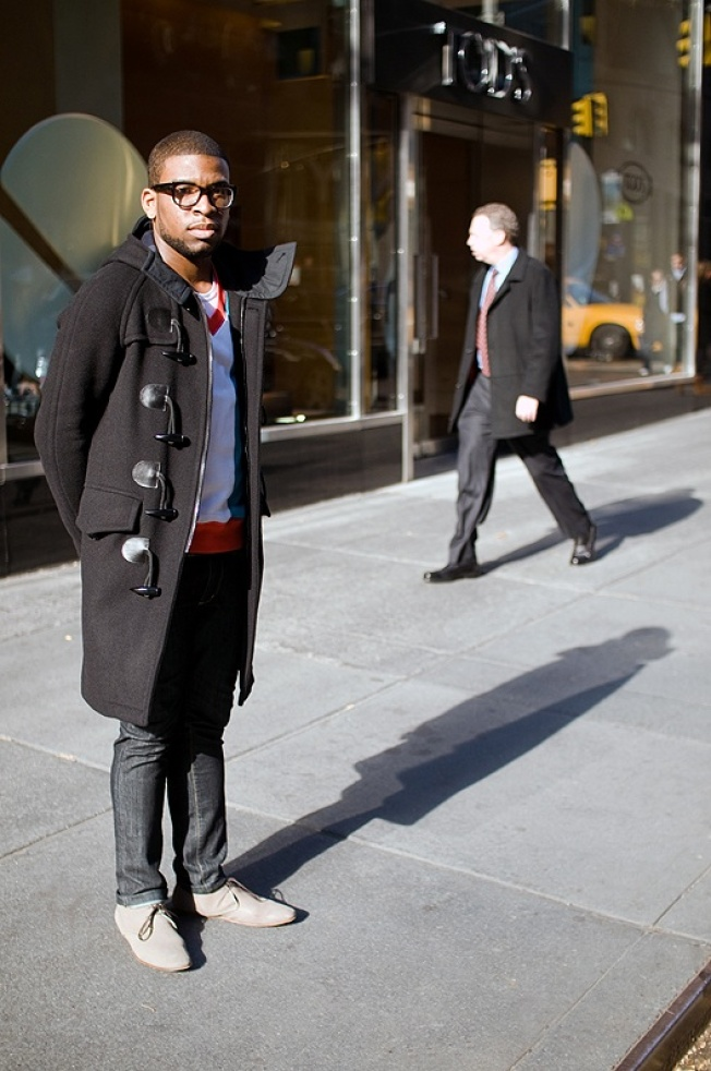 Street Scenes: Todd on Madison Avenue