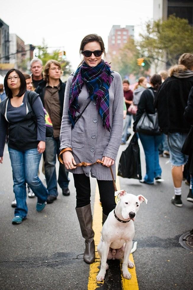 Street Scenes: Melissa on Atlantic Avenue