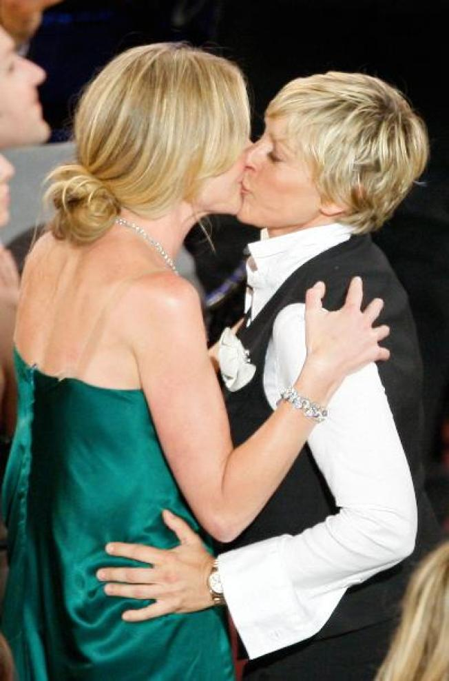 Ellen and Portia to Marry This Weekend
