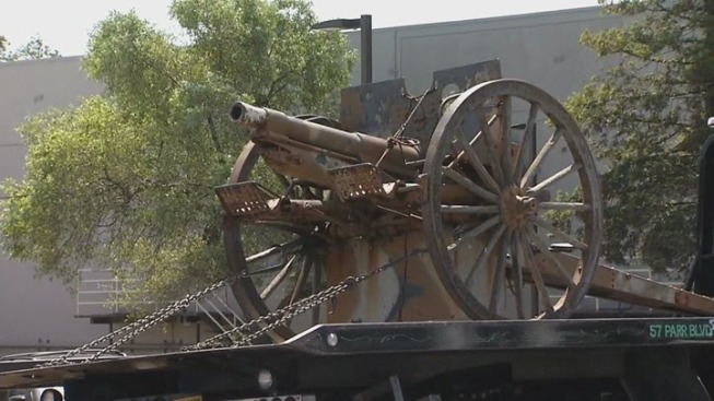 Richmond Police Arrest Man Who They Say Stole WWI-Era Cannon