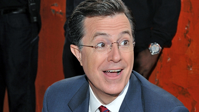 Stephen Colbert Mocks Romney's Sport of Choice