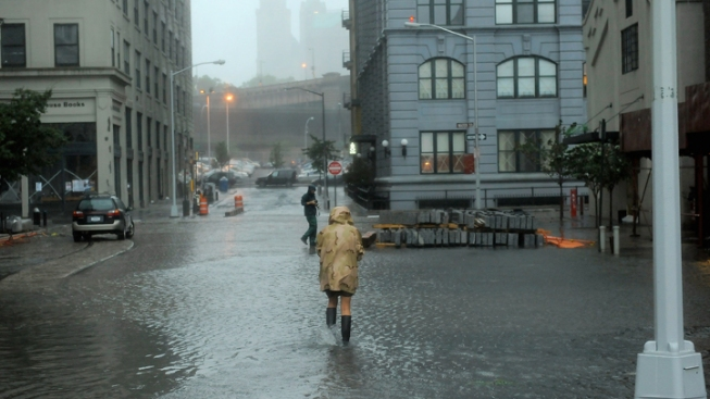Year After Irene, New York Ponders Sea Barriers