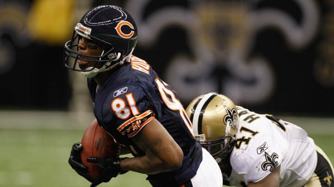 Former Bears, Cowboys Receiver Indicted on Federal Drug Charges