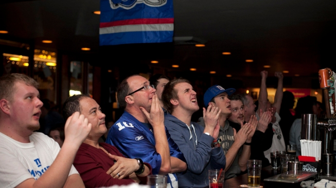 Fans Cheer on Big Blue