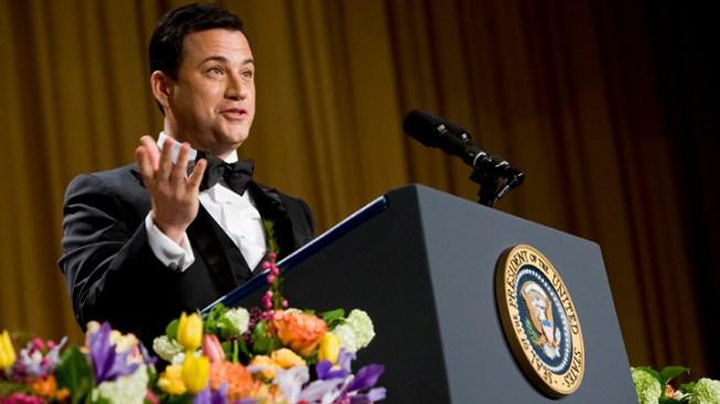 NJ Gov. Christie Shrugs Off Kimmel's Fat Jokes