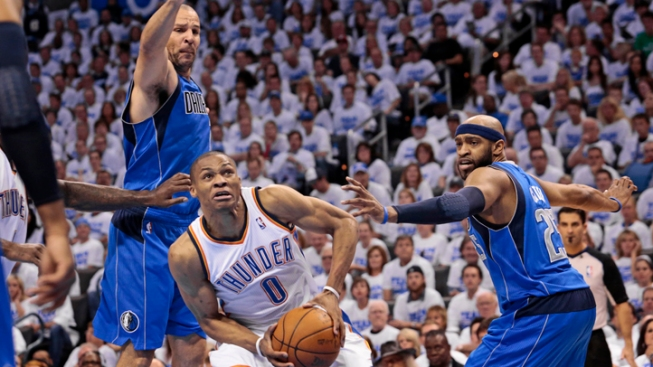 Mavs Head Home Trailing Thunder 0-2