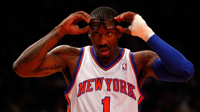 Amar'e Stoudemire Will Start the Season on the Bench
