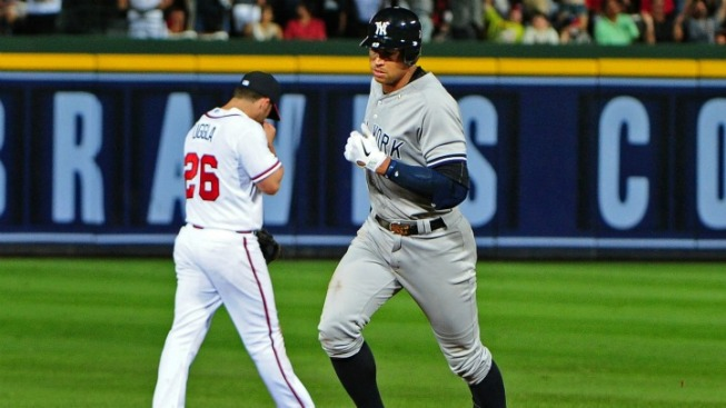 Alex Rodriguez Saves Day With Grand Slam, Makes History