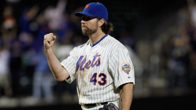 R.A. Dickey Makes First All-Star Team