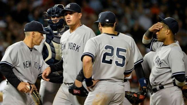 Yankee Flaw Shows Itself in Chicago