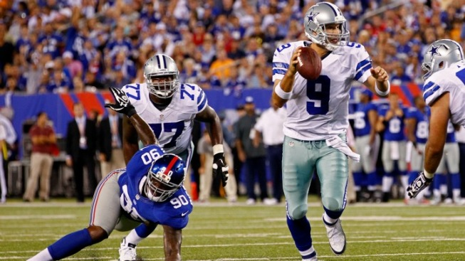 Tony Romo Beats the Giants This Time
