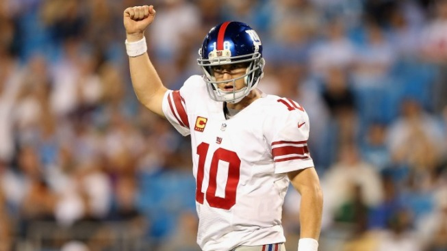 Injury-Depleted Giants Stomp Panthers 36-7