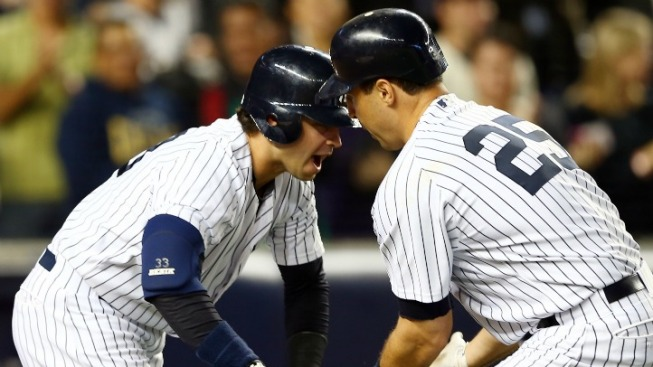 One Big Inning Draws Yankees Closer to Division Crown