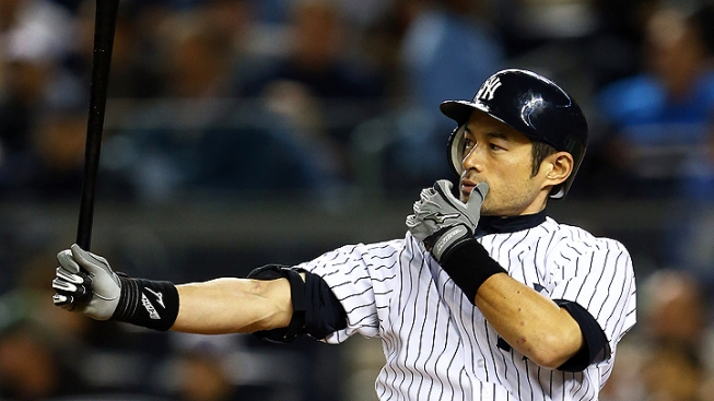 Yankees' Ichiro Suzuki OK After Traffic Accident