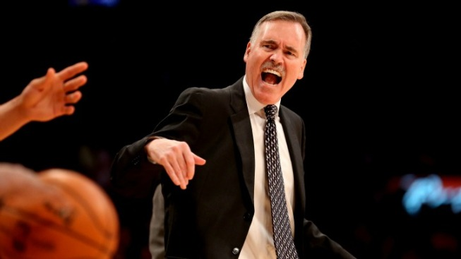 Mike D'Antoni Is Heading Back to the Garden