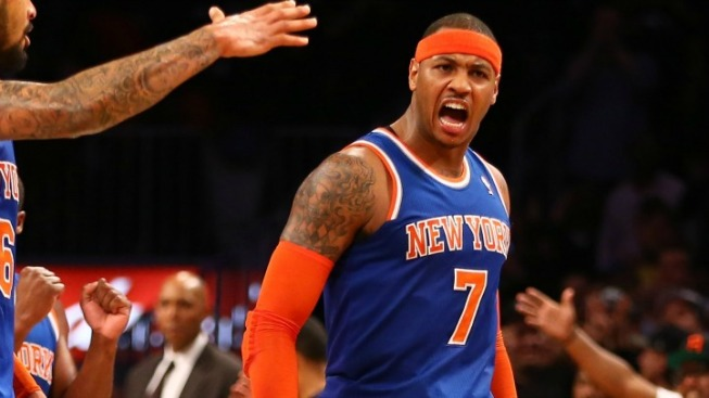 The Carmelo Anthony Show Takes Brooklyn