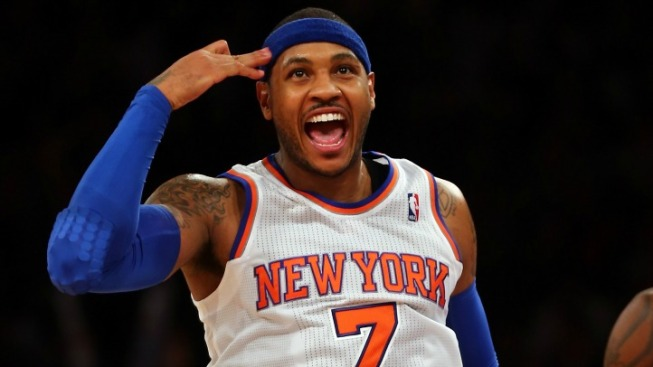 Carmelo Anthony Saved the Weekend