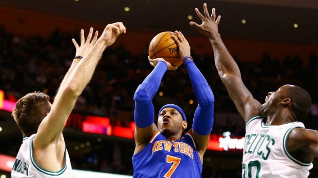 Knicks Reach New Height By Dispatching Old Foe