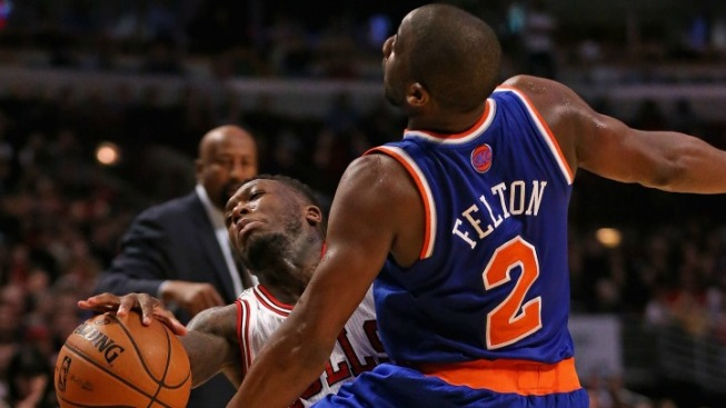 Knicks Streak Ends Not With a Bang, But a Whimper