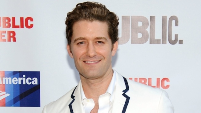 """Glee"" Star Matthew Morrison Will Return to Broadway in ""Finding Neverland"""