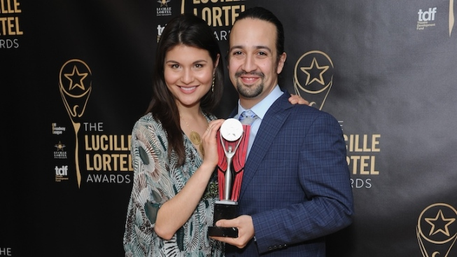"""Hamilton"" Sweeps at Off-Broadway's Lucille Lortel Awards"
