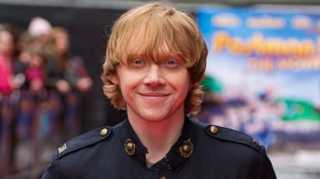 """Harry Potter"" Star Rupert Grint Joins ""It's Only a Play"""