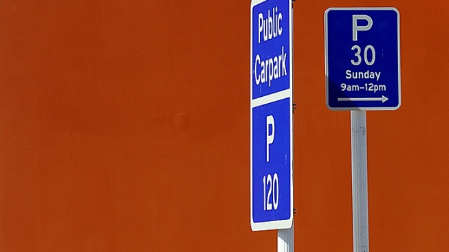 Prostitutes' Pole Dances Are Ruining Parking Signs: Officials