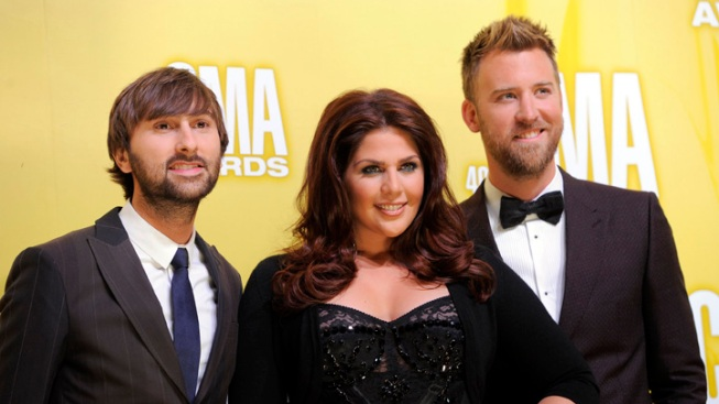 Billboard Honors Lady Antebellum for 1st Tour