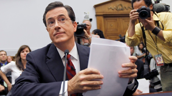 Stephen Colbert Bids Farewell to Santorum Campaign