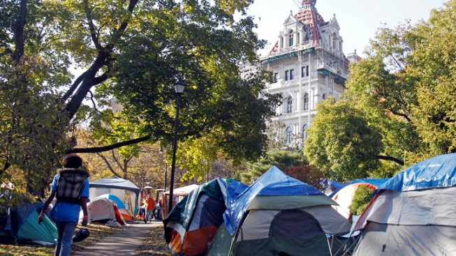 24 Occupy Albany Protesters Arrested at Park