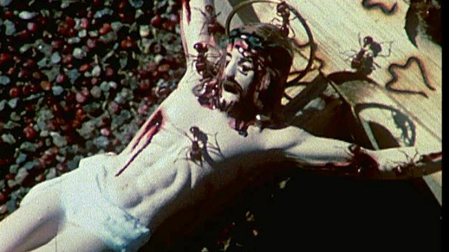 Edgy Brooklyn Museum to Show Film of Ants on Crucifix