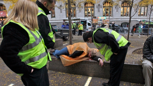 Wall Street Hires Occupy Protester
