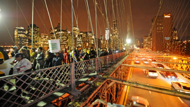 Charges Dropped for Many #OWS Protesters Arrested on Bridge