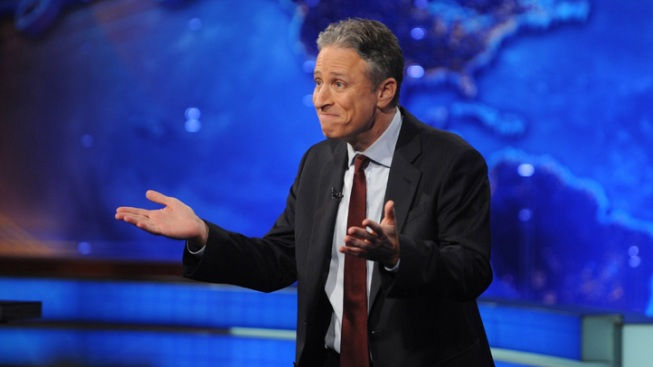 Jon Stewart: Who's Funnier—Obama or Romney?