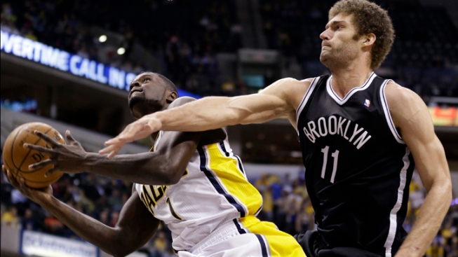 Nets Rally Late, Beat Pacers 89-84