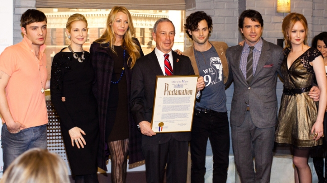 "Bloomberg Declares ""Gossip Girl"" Day"