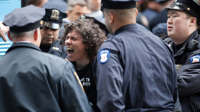 Dozens of Arrests at OWS Anniversary