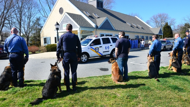 Ailing Hero K-9 Gets NJ Police Salute Before Death
