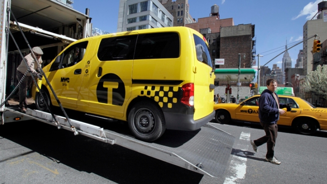 Hail to the New NYC Taxi: Nissan Cab Unveiled
