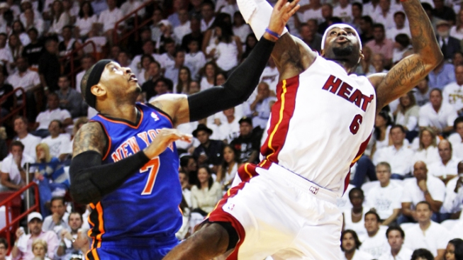 Knicks Can't Stand the Heat, Fall 106-94 in Game 5 to End Season