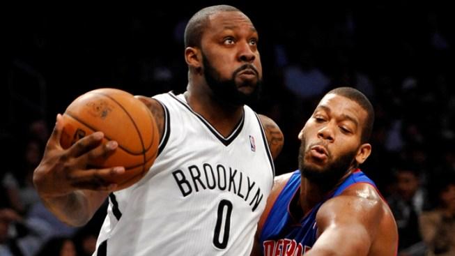 Lopez, Blatche Help Nets Hold off Pistons, 103-99