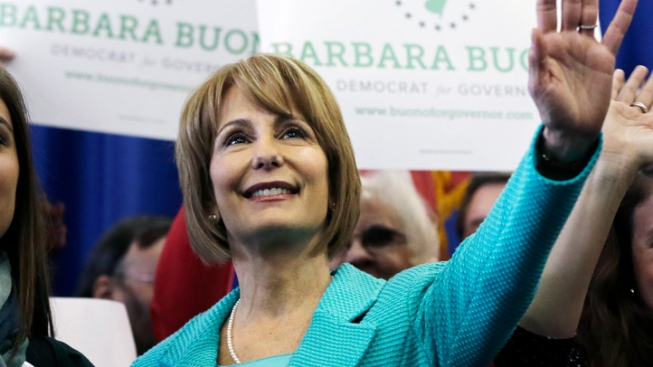 Buono Campaigns Without Big-Name Dems in NJ
