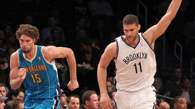 Brook Lopez Helps Nets Beat Hornets, 108-98