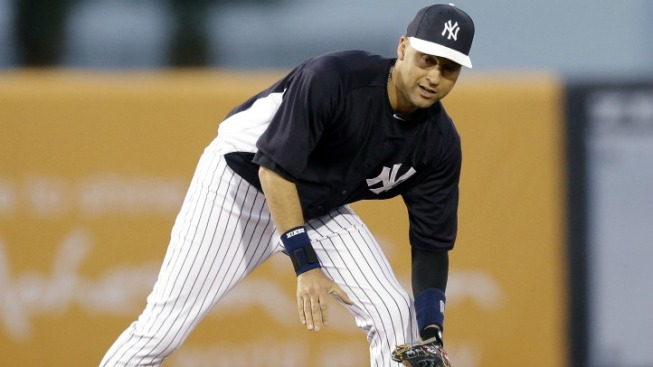 Derek Jeter Gets Back on the Field