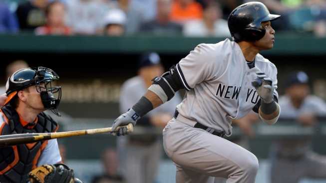 Yankees Hit 4 HRs, Beat Orioles 6-4 in 10 Innings
