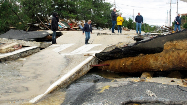 NJ Barrier Island Finally Reopens to Sandy Victims