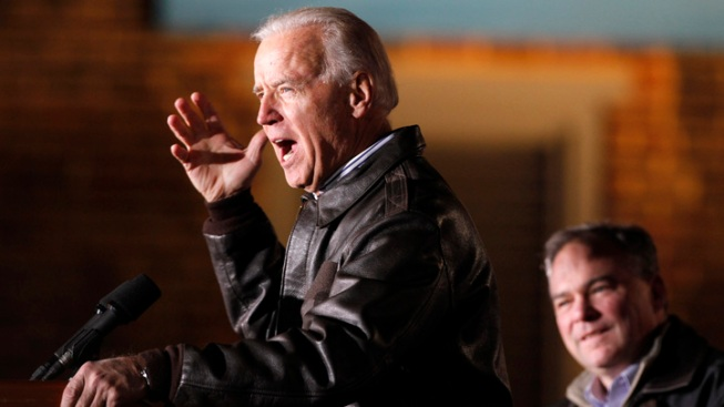 Biden Tours Storm Damage in NJ