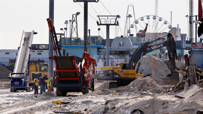 Feds Question Seaside Heights on Sandy Spending